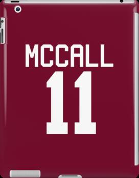 Scott McCall's Jersey - white text by sstilinski