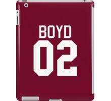 Boyd Jersey - white text iPad Case/Skin
