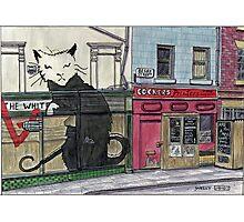 Banksy Pub, Liverpool Photographic Print