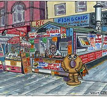fast food by Tim Wells