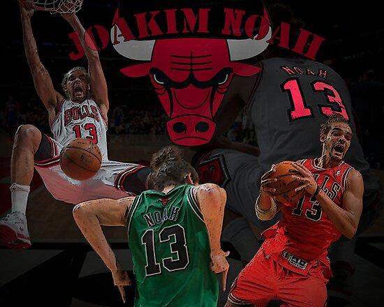 Chicago Bulls - Joakim Noah Poster by jordan726