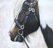 Double Tumble's Celtic Bridle by Tahnja