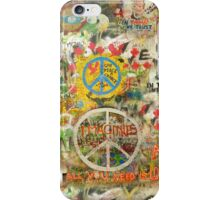 The Beatles iPhone 5 Plastic Case John Lennon Peace Sign 5, 4s, 4, 3gs, 3 Imagine All You Need is Love iPhone Case/Skin