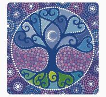 Moon-Tree Mandala Kids Clothes