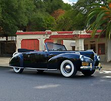 1941 Lincoln Continental Convertible 4 by DaveKoontz