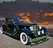 Classic Packard Coupe by DaveKoontz