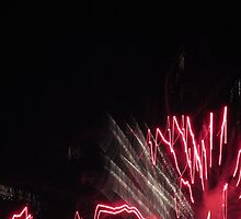 Fireworks Light Trails 10 by marybedy
