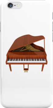 Grand Piano: Wood Finish by bradyarnold