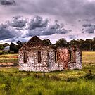 Church Ruins Hume Highway NSW by Kym Bradley