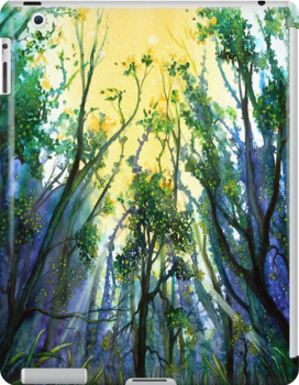 'BRANCHING OUT' IPAD CASE by © Linda Callaghan