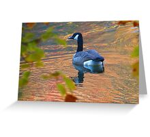 Golden Goose Greeting Card