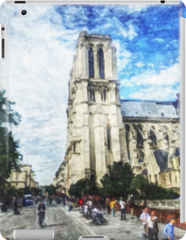 Notre Dame on a Day in May by Patricia L. Walker