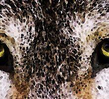Wolf Eyes by Sharon Cummings