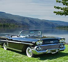 1958 Chevrolet Impala Convertible by DaveKoontz