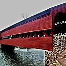 Sachs Covered Bridge, Adams County, PA by Jane Neill-Hancock