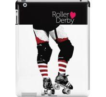 Love Roller Derby iPad Case/Skin
