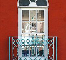Turquoise Balcony by Yampimon