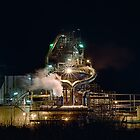 Kwinana Nickel Refinery by Glen  Robinson