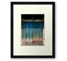 Old China Door Framed Print