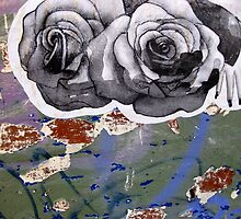 7/11 wall roses by Evelyn Bach