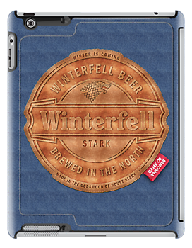 Winterfell Beer Jeans - iPad case by satansbrand