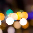 City Night defocused urban abstract by ilolab
