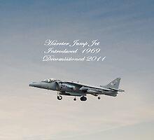Harrier Jump Jet  iPad Case by Catherine Hamilton-Veal  ©
