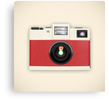 retro camera collection Canvas Print