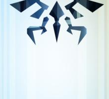 Legend of Zelda Hyrule Rising Minimal Vector Poster  Sticker