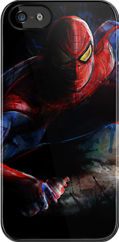 Amazing Spiderman Spidey Ain't Tidy Digital Painting by barrettbiggers