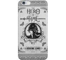Legend of Zelda Link Hero of Time Geek Line Artly iPhone Case/Skin