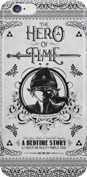Legend of Zelda Link Hero of Time Geek Line Artly by barrettbiggers