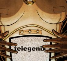 Tee-Vee from telegenix (v2) Sticker