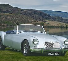 1956 MGA Roadster by DaveKoontz