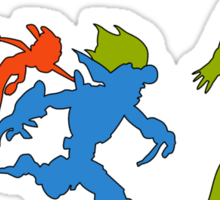 Hero Evolution Sticker