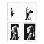 iPad Case - Vermeer Pencil Study 4 x 4 White by Jan Szymczuk