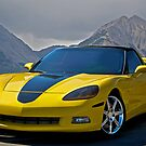 Corvette in Aspen by DaveKoontz