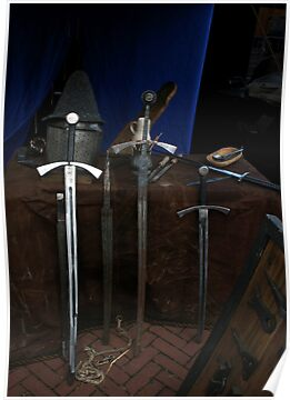 3 Swords & 2 Hats by patjila