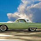 1957 Ford Thunderbird by DaveKoontz
