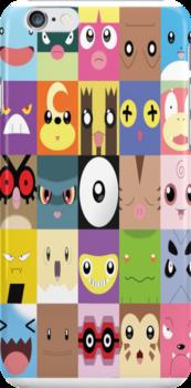 Pokemon Faces  by ThatGingerSheep