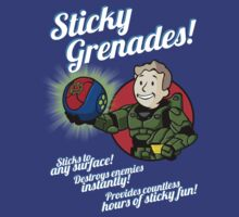Sticky Greandes! by D4N13L