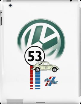 Herbie THE LOVE BUG CAR VW iphone cased by ALIANATOR