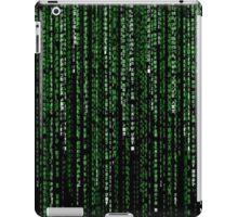 matrix style ipad iPad Case/Skin