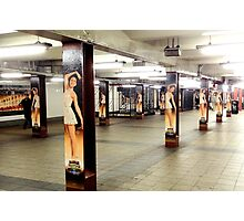 Dancers In The Subway - NYC Photographic Print