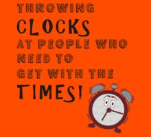 Throwing Clocks by tappers24