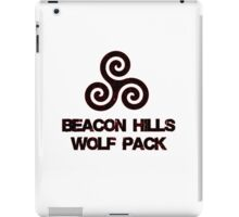 Wolf Pack (red) iPad Case/Skin