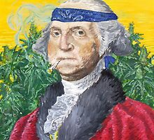 Founding Farmer Marijuana George Washington Legalize Freedom by John-Mike