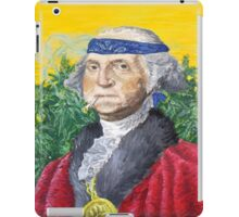 Founding Farmer Marijuana George Washington Legalize Freedom iPad Case/Skin