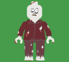 Zombie Minifig by Customize My Minifig by ChilleeW
