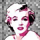 Marilyn Monroe - Pink Lady Too - Pop Art by wcsmack